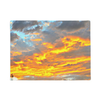 December Sonoran Sky Door Mat