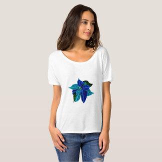 December: Turquoise & Lapis Luzuli Poinsettia tee