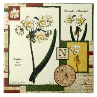 December's Flower Tiles