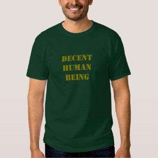 Decent Human Being T-shirt - Corporal