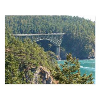 Deception Pass Bridge Postcard