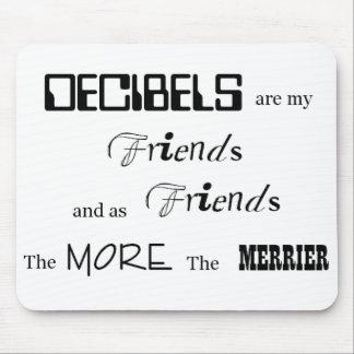 Decibels mp mouse pad
