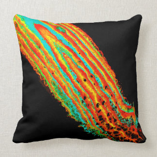 """Decidedly Undecided"" Abstract Art Throw Pillow"