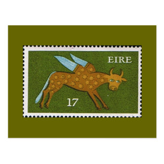 Decimal Postage Stamp of Eire Ireland 1974 Postcard