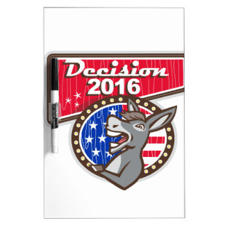 Decision 2016 Democrat Donkey Dry-Erase Boards