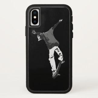 """Deck Flipping"" Skateboarding Stunt iPhone X Case"