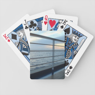 Deck Level View Bicycle Playing Cards