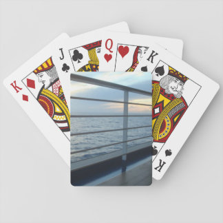 Deck Level View Playing Cards