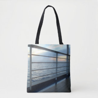 Deck Level View Tote Bag