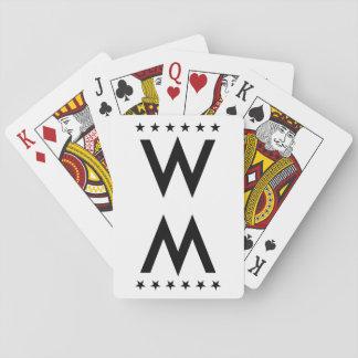 Deck of card poker deck