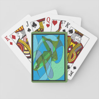 Deck of Cards with Frog