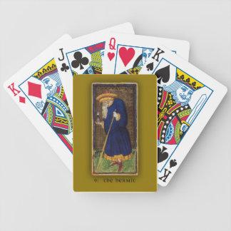 Deck of Cards with Visconti-Sforza Tarot Hermit