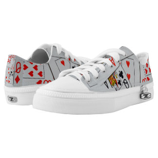 Deck_Of_Playing_Cards,_Unisex_Lowtop_Zipz_Sneakers Low Tops