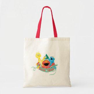 Deck the Hall Sesame Street Budget Tote Bag