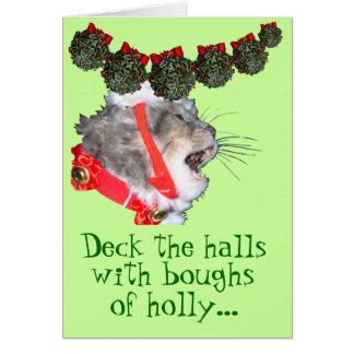 Deck the Halls Greeting Card