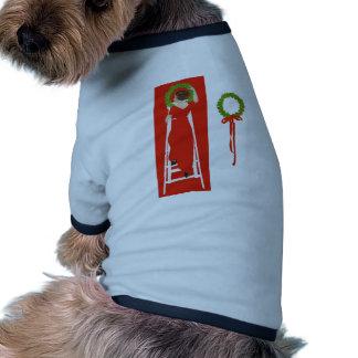 Deck the Halls Doggie T Shirt