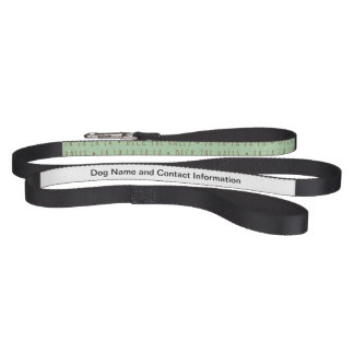 Deck the Halls Holiday Pattern Dog Lead