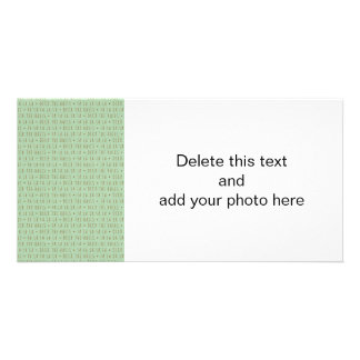 Deck the Halls Holiday Pattern Photo Card