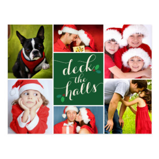 DECK THE HALLS | HOLIDAY POST CARD