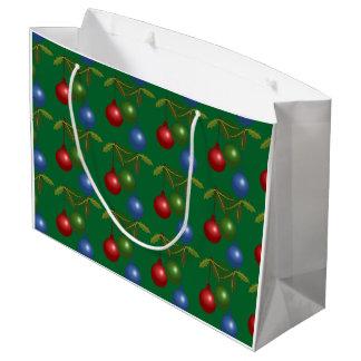 Deck the Halls Large Gift Bag