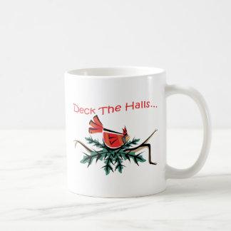 deck the halls mug