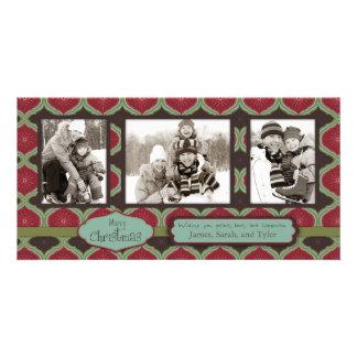Deck  the Halls Photo Card Trio