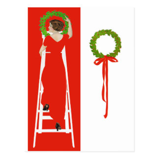Deck the Halls Post Cards