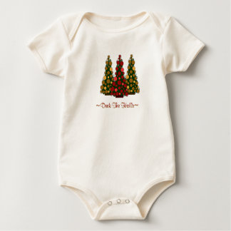 Deck the Halls Top For Baby Bodysuits