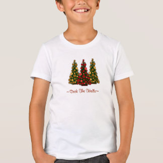 Deck the Halls Top For Girls T Shirt