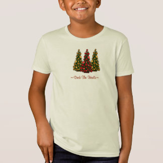Deck the Halls Top For Girls Tee Shirts