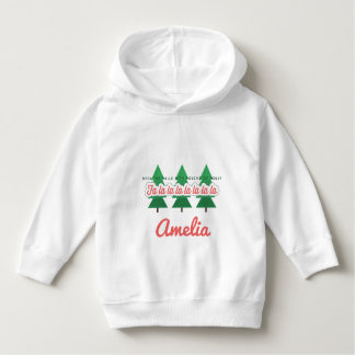 DECK THE HALLS WITH BOUGHS OF HOLLY HOODIE
