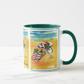 deck-your-paws holiday mug