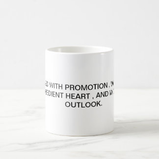 DECLARATION. COFFEE MUG