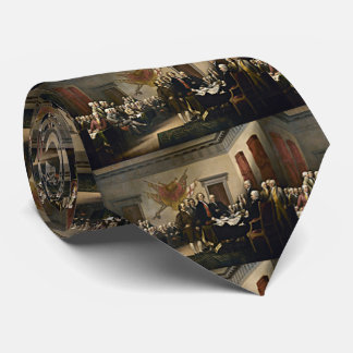 Declaration of Independence 1776 Tie