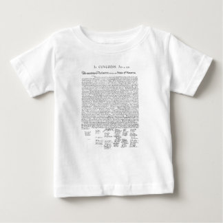 Declaration of Independence Baby T-Shirt