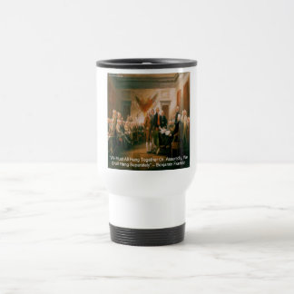 Declaration Of Independence & Ben Franklin Quote Coffee Mug