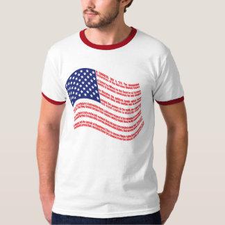 Declaration of Independence Flag T-Shirt