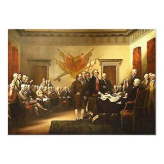 Declaration of Independence Invitation