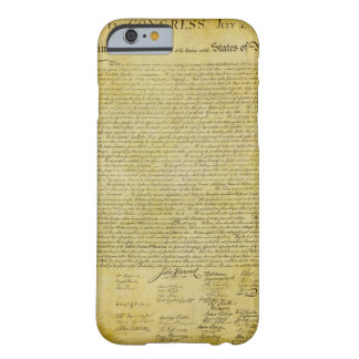Declaration of Independence iPhone 6 case Barely There iPhone 6 Case