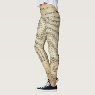 Declaration of Independence Leggings
