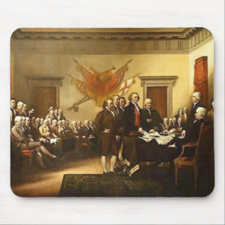 Declaration of independence Mousepad