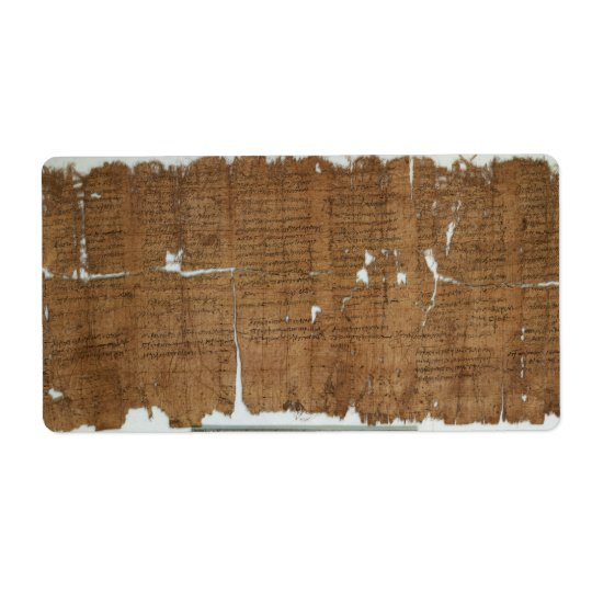 Declaration of Prices Papyrus dated 319 A.D.