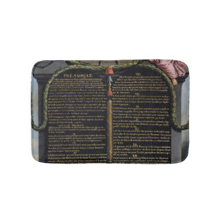 Declaration of the Rights of Man and Citizen Bath Mats