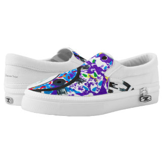 """Deco Cogs"" women's slip-on shoes"