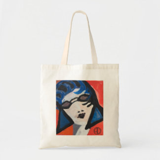 Deco Flapper Tote Bag