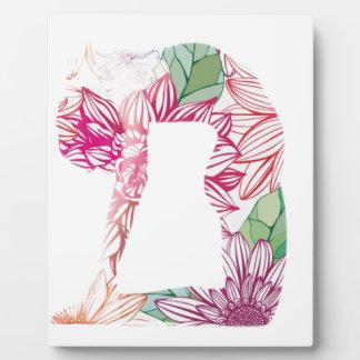 Deco Floral Yoga Series Plaque