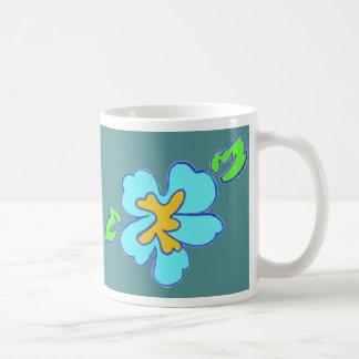 Deco flower mug