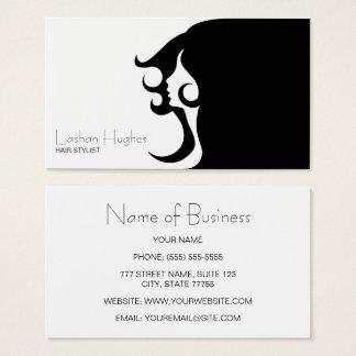 Deco Mod Hair Stylist Business Card
