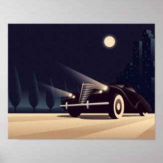 Deco Nights Poster