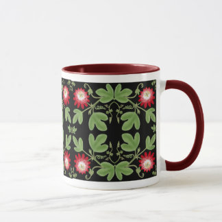 Deco Passion Flower Vines Mug